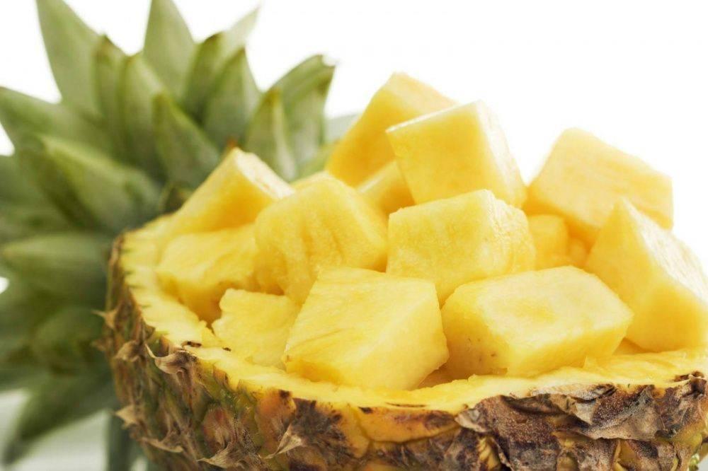 Свежий ананас: польза и вред для здоровья