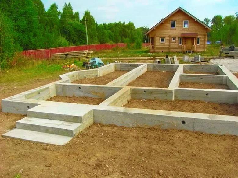 Типы фундаментов для деревянных домов: виды и их особенности