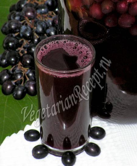 Виноградный компот: вкуснейшие рецепты приготовления компота из винограда на зим у