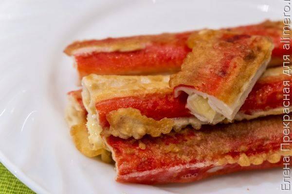 Закуска с крабовыми палочками — 10 оригинальных рецептов