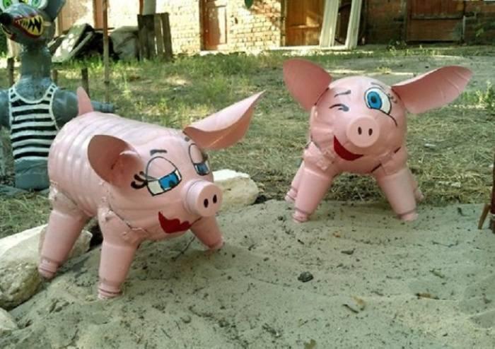 Поделка свинка — пошаговая инструкция и мастер-класс, как сделать красивую свинку своими руками (90 фото)