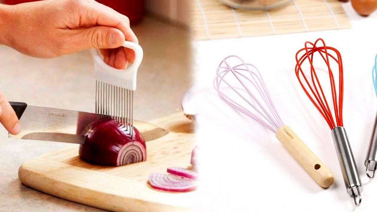 Как мелко нарезать лук: удобное приспособление
