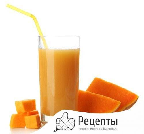 Как приготовить вкусный тыквенный сок на зиму в домашних условиях?