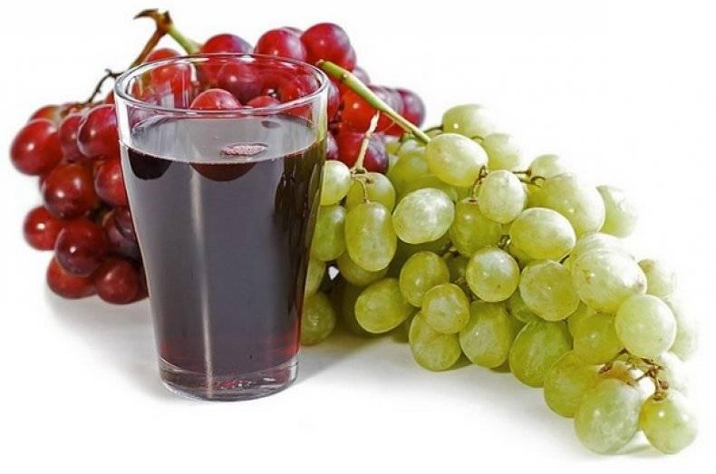 Виноградный сок на зиму в домашних условиях