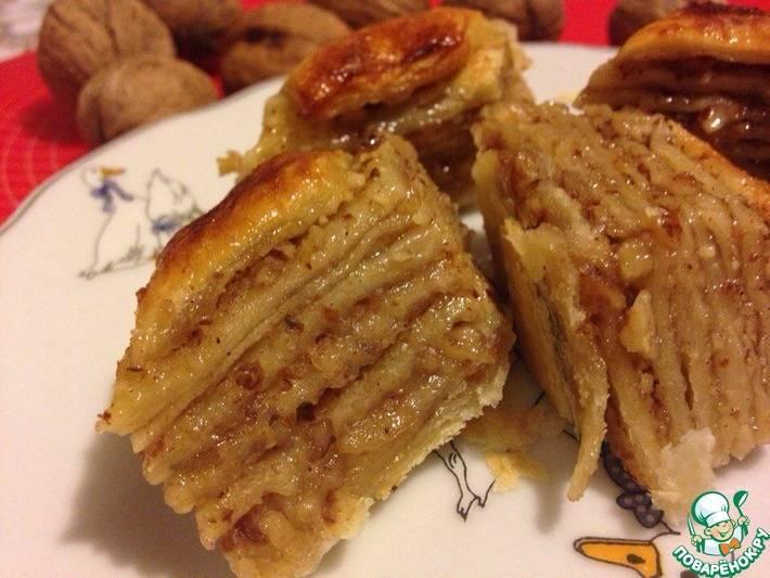 Пахлава, пошаговые рецепты приготовления с фото