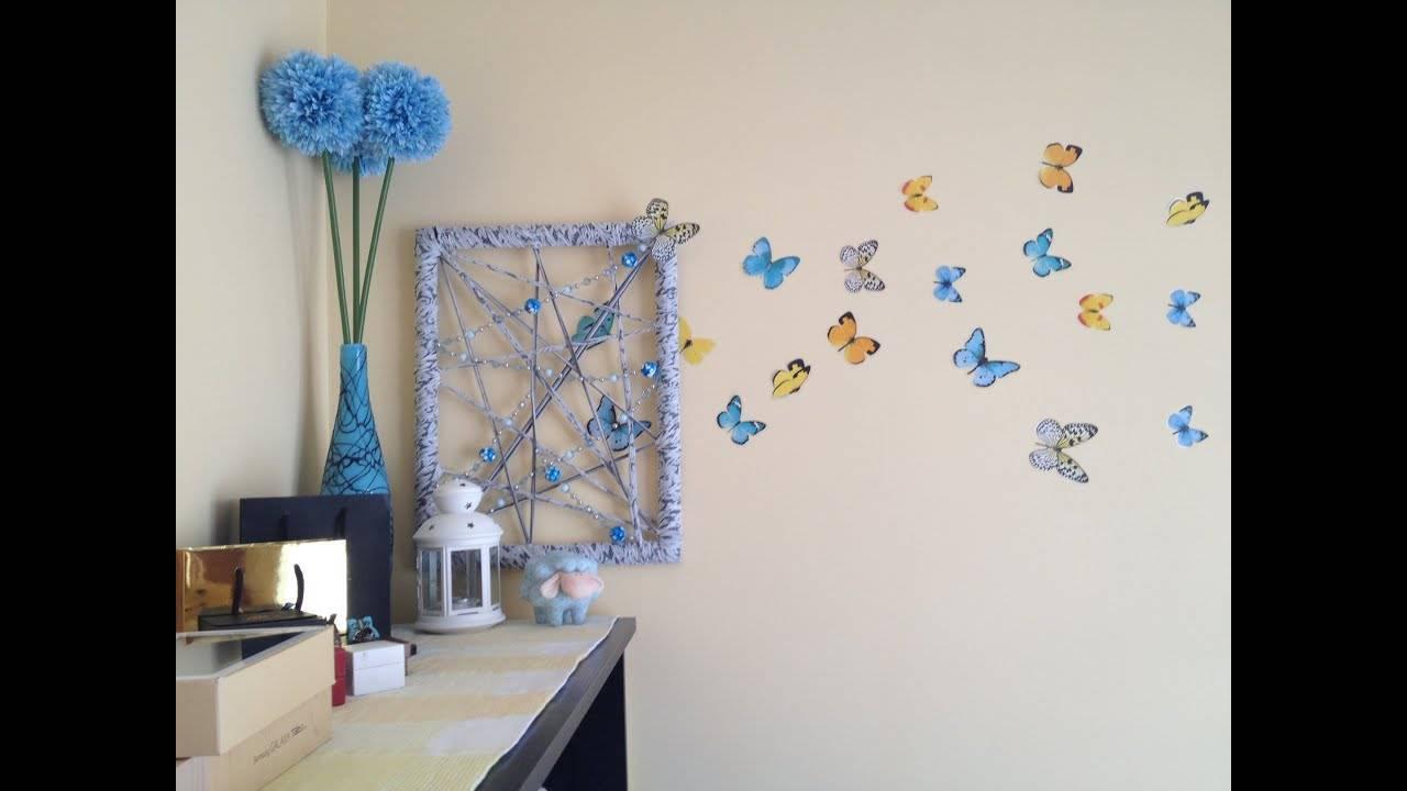 Как украсить комнату для новорожденного мальчика, девочки своими руками, видео