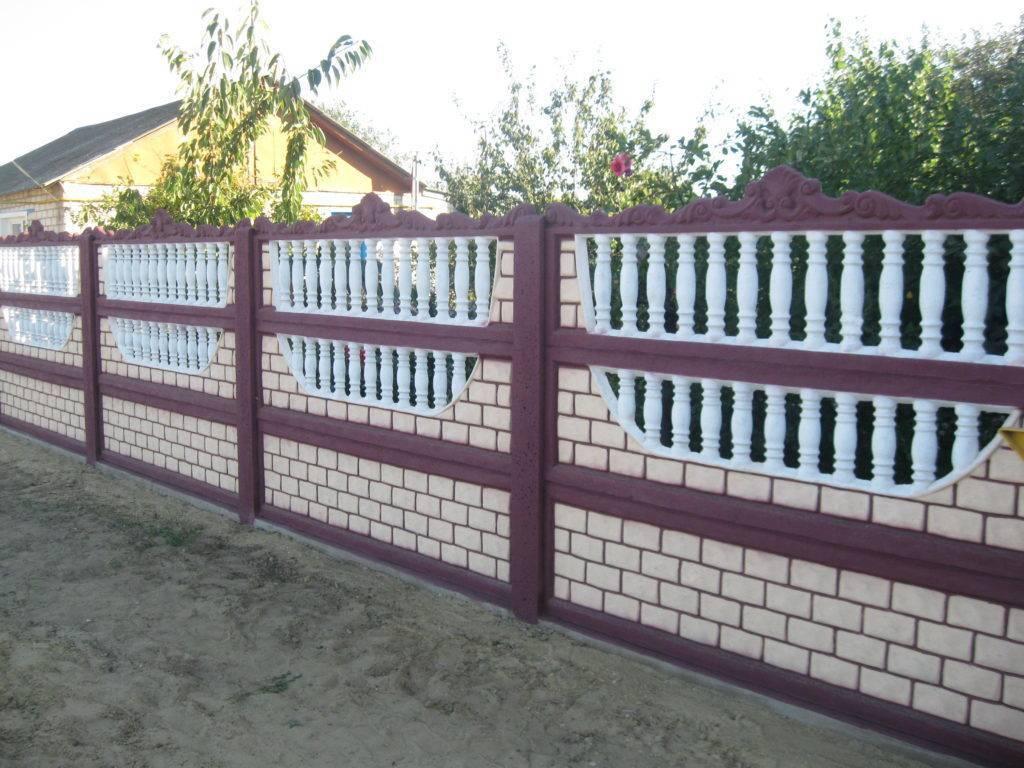 Бетонный забор на даче своими руками: установка и монтаж ограждений, пошаговое руководство с фото