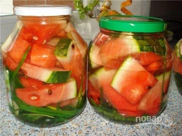 Рецепты засолки арбузов в бочке на зиму