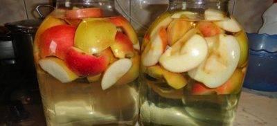 Компот из яблок с апельсинами