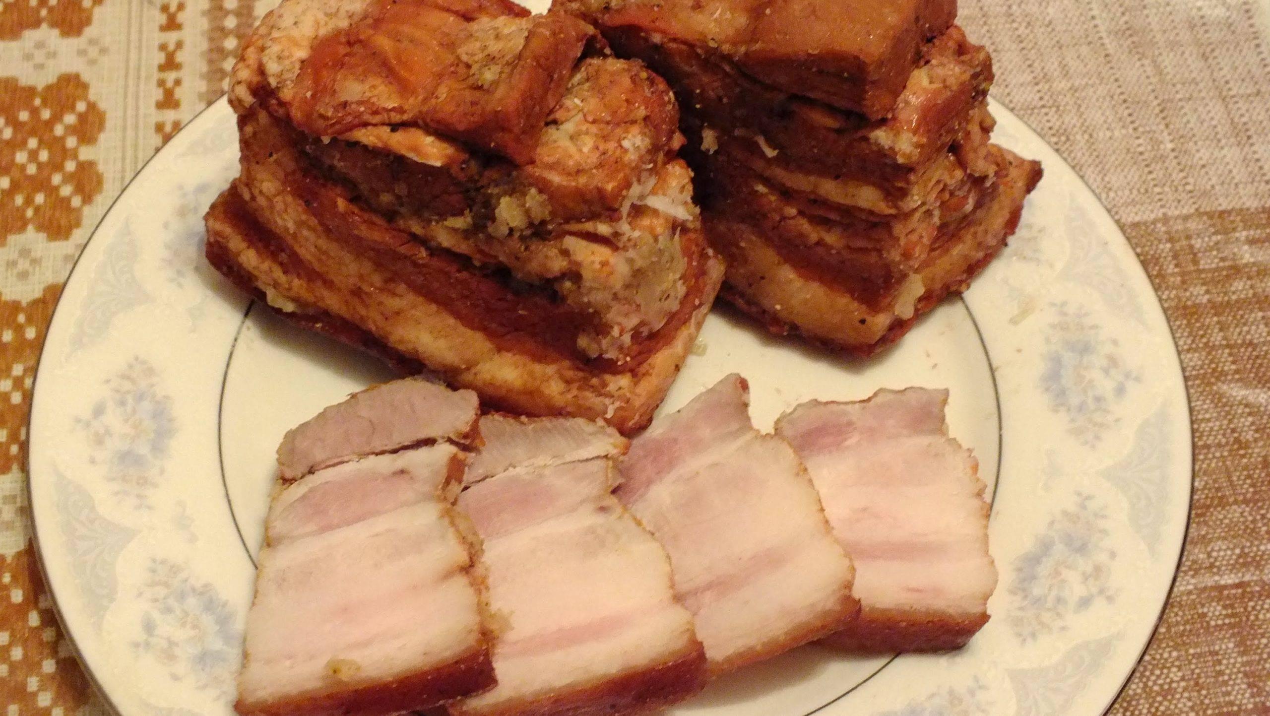 Сало в луковой шелухе, самые вкусные рецепты
