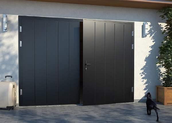 Как сделать деревянные ворота для гаража своими руками