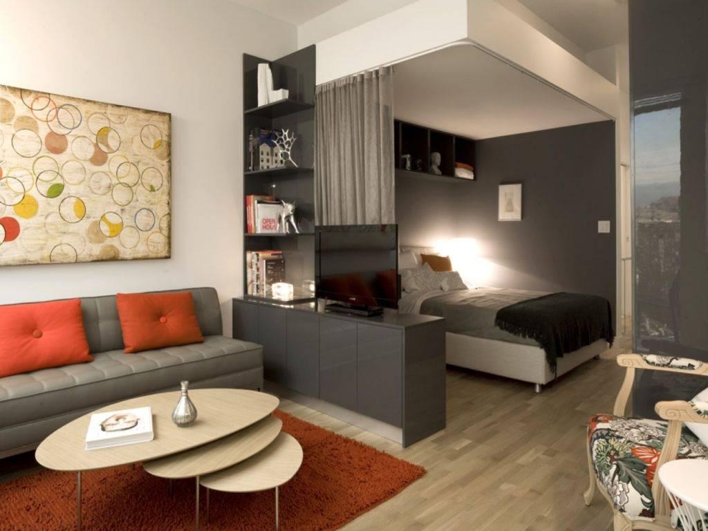Спальня-гостиная: 130 фото красивых идей дизайна, оформления и обустройства совмещенных комнат