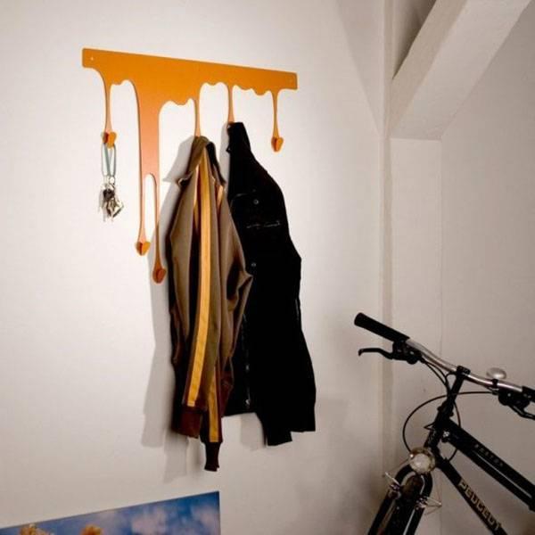 Вешалка для одежды своими руками