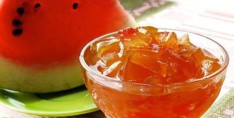 5 отличных рецептов варенья из арбузных корок