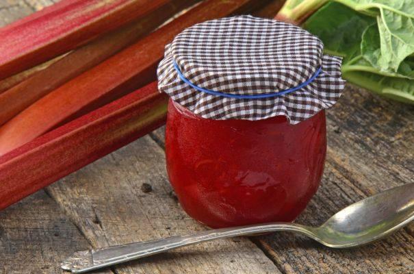 Варенье из ревеня: 12 вкусных рецептов