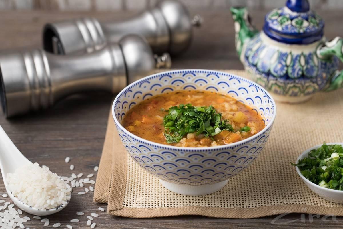 Пикантный суп мастава по-узбекски