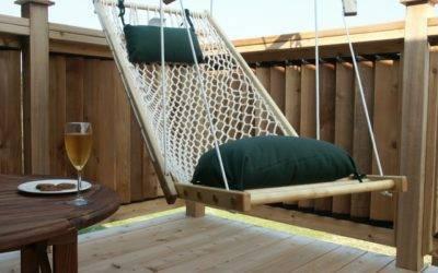 Создаем уют, кресло-гамак своими руками