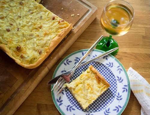 Луковый пирог — вкуснейшие рецепты с фото пирогов с луком