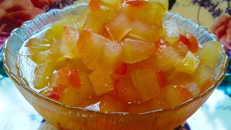 Цукаты из арбузных корок — рецепты приготовления в домашних условиях, польза и вред цукатов, видео