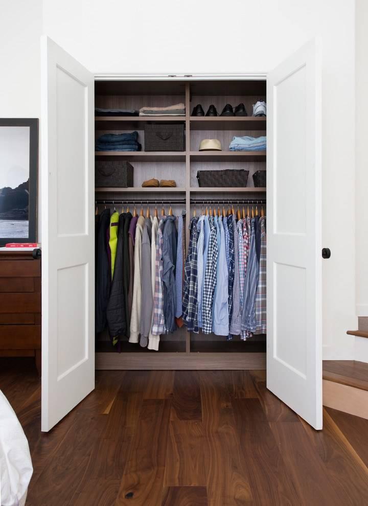Свет и вентиляция в гардеробной - нормы, схемы, видео