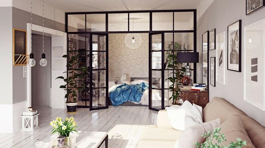 Зонирование гостиной — современные оригинальные идеи и варианты распределения места в гостиной
