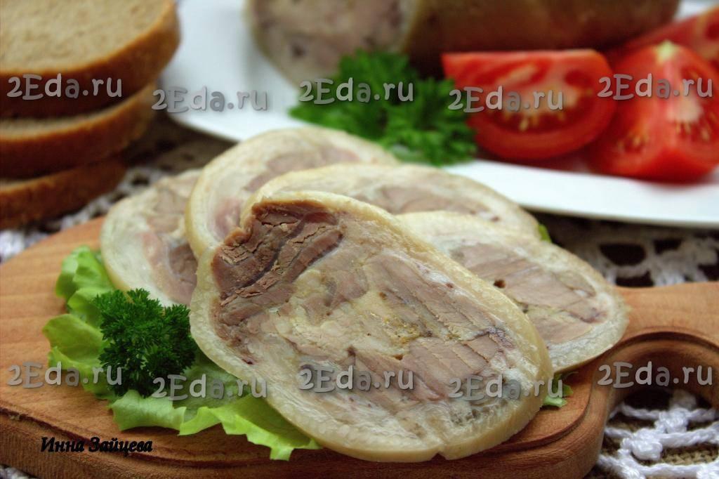 Рулет из свиной рульки: 5 пошаговых рецептов в домашних условиях