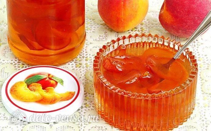 Варенье из персиков «пятиминутка»