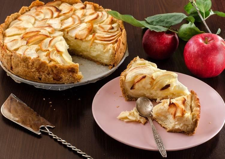 Цветаевский яблочный пирог: классический рецепт с пошаговыми фото