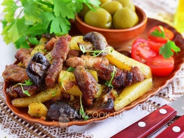 Самые вкусные рецепты жаренной картошки с грибами