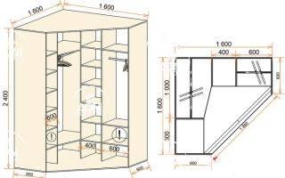 Особенности выбора углового шкафа-купе
