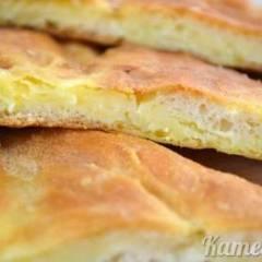 Осетинский пирог с картошкой и сыром — пошаговый рецепт приготовления