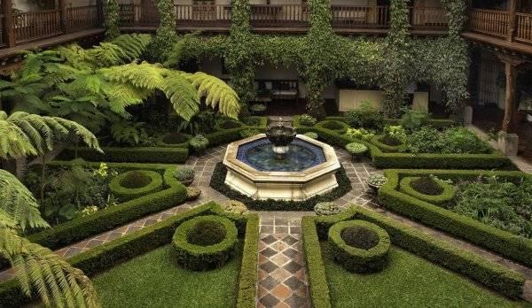 Садовые фонтаны: идеи для ландшафтного дизайна и стильного оформления участка (95 фото)
