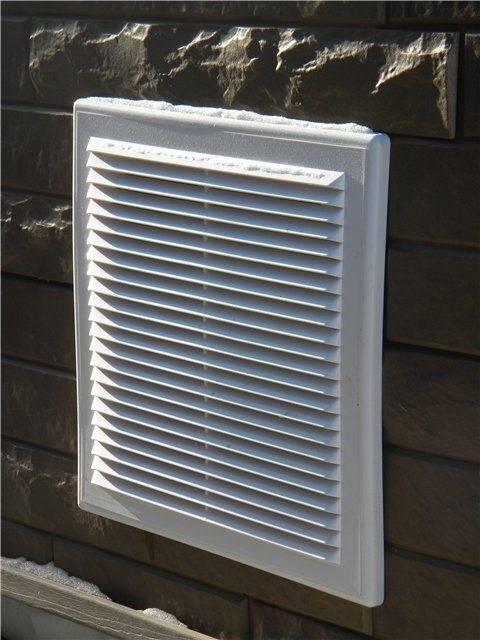 Как устроить вентиляцию жилого цокольного этажа