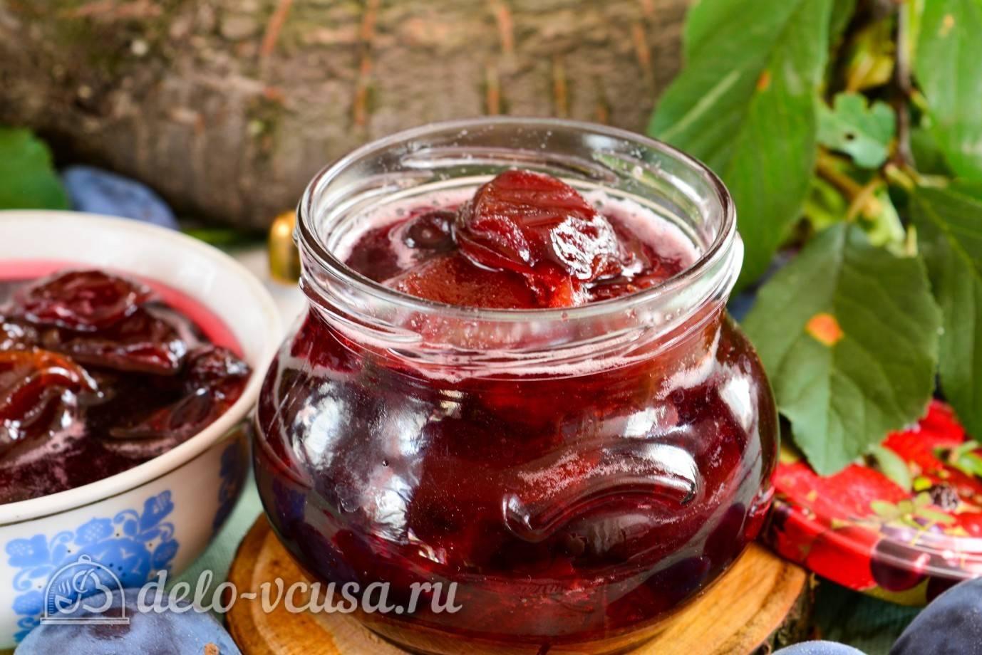 Варенье из слив на зиму — 17 простых и вкусных рецептов с косточками и без косточек