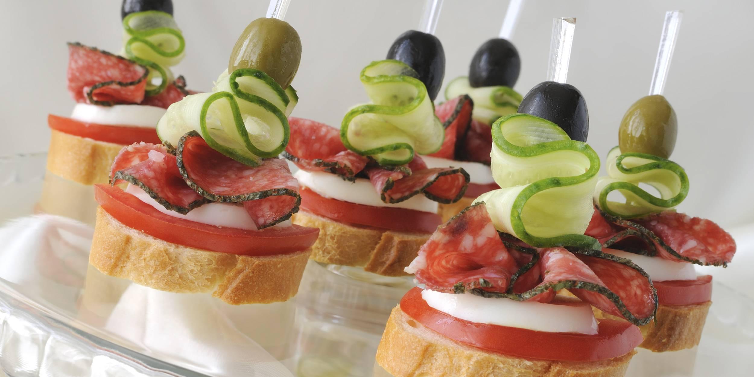 10 закусок на праздничный стол — простые и вкусные: пошаговые рецепты с фото