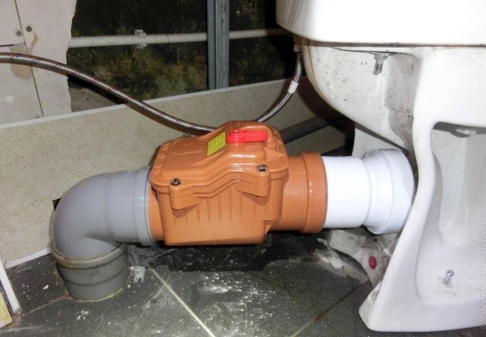 Где и как применяется воздушный клапан для канализации