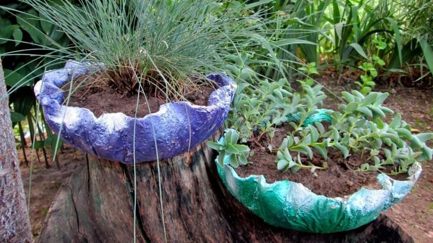 Украшения для сада своими руками — яркие, стильные и красивые варианты оформления сада (140 фото)