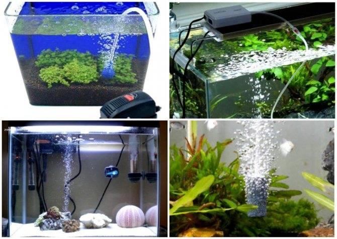 Распылитель для аквариума с мелкими пузырьками
