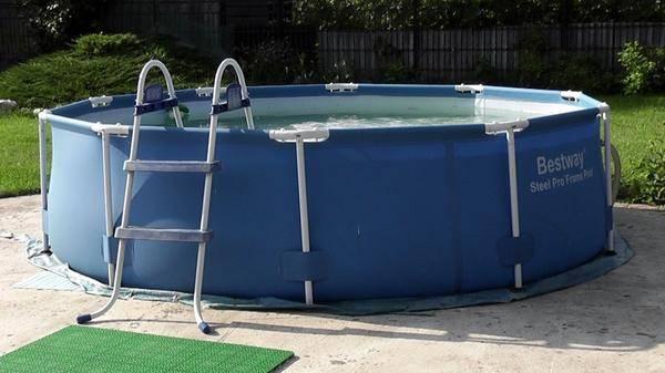 Бассейны для дачи — как построить стационарный бассейн своими руками, как установить каркасную конструкцию, видео