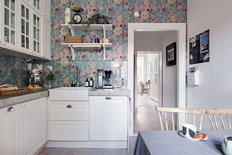 Модные цветовые тона отделочных материалов для кухни: выбираем цвет обоев