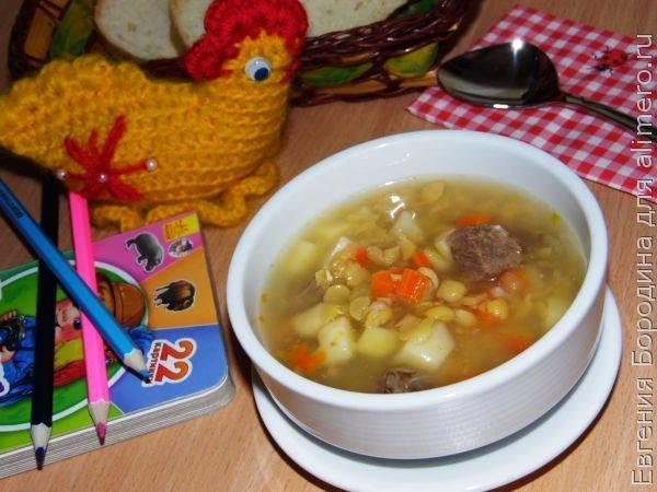 Гороховый суп, рецепт пошаговый с фото