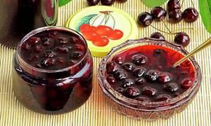 Варенье пятиминутка из вишни
