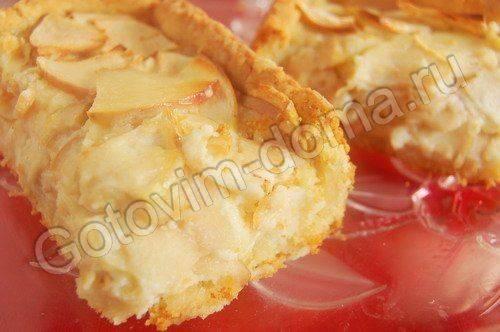 Цветаевский яблочный пирог с корицей