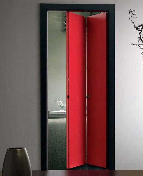 Складные межкомнатные двери: как выбрать, собрать и монтировать