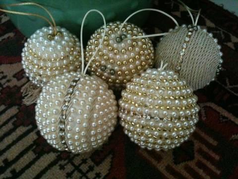 Новогодние украшения из бисера своими руками