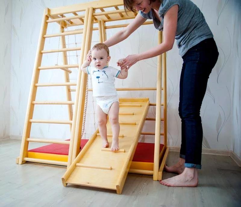 Уголок для занятий спортом – лидер среди домашних методов оздоровления ребёнка