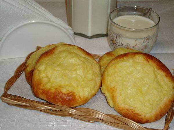 Бабушкины шаньги с картошкой