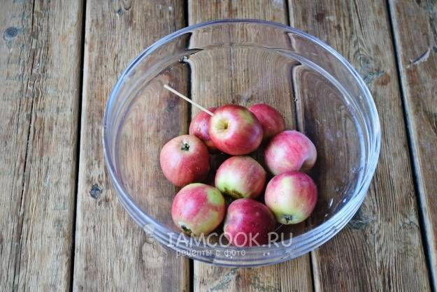 Компот из яблок дички на зиму рецепты