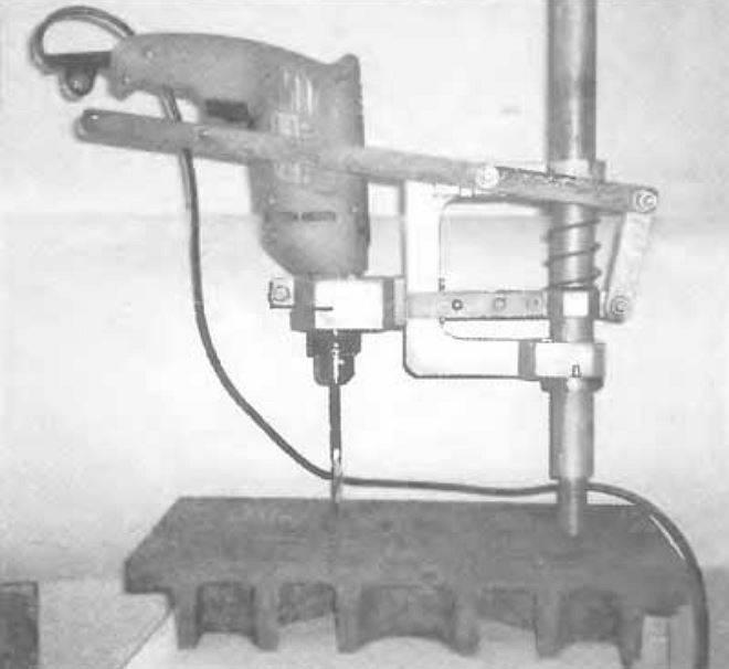 Сверлильный станок из дрели своими руками по чертежам, видео