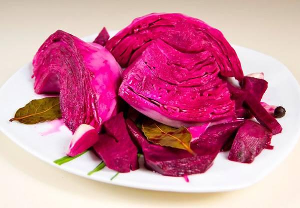 Рецепты салат из маринованной свеклы